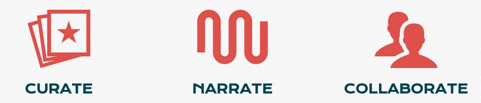 Curate, Narrate, Collaborate