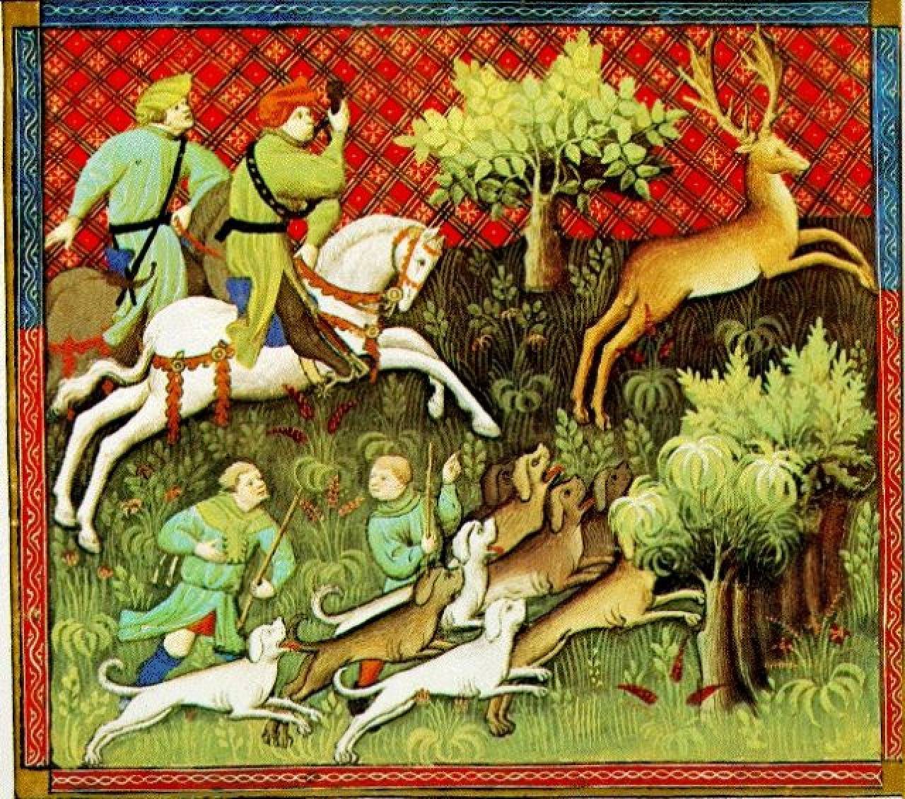 sir gawain and the green knight middle english alliterative poetry hunting in the middle ages