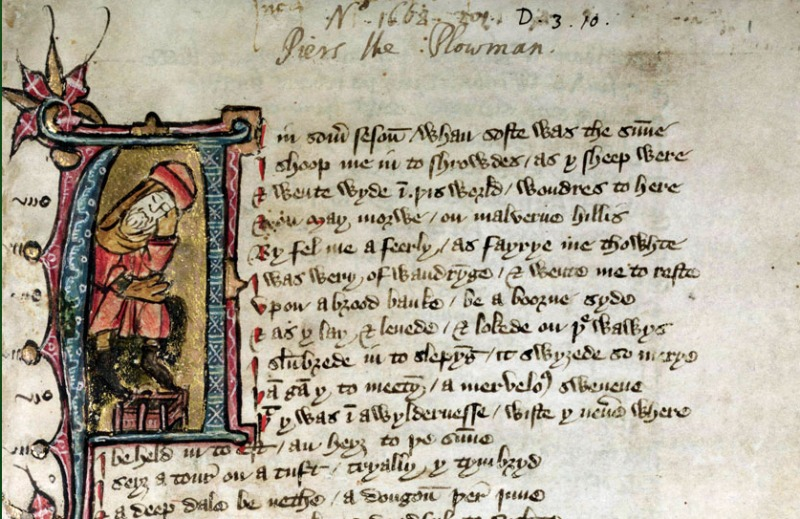 Piers Plowman Middle English Alliterative Poetry