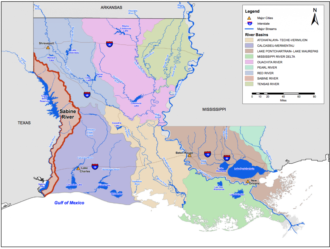 Explore Rivers in Louisiana   Today's Homepage